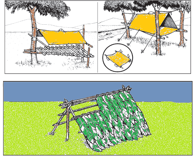 come costruire un rifugio nella foresta archivi sopravvivere